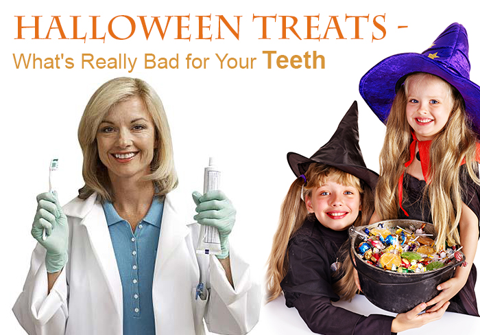 halloween candy dentist